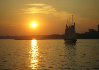 Sunset Over Humber Bay Toronto